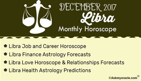 2017 horoscope predictions libra monthly horoscope december 2017 libra 2017 astrology