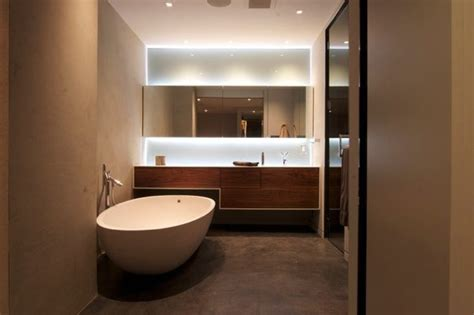Bachelor Pad Bathroom by Modern Bachelor Apartment Master Bath 2 Interior Design