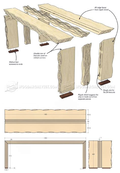 oak bench plans rippled oak bench plans woodarchivist