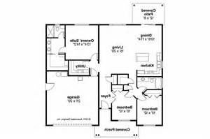 Craftsman House Floor Plans craftsman house plan bandon 30 758 floor plan