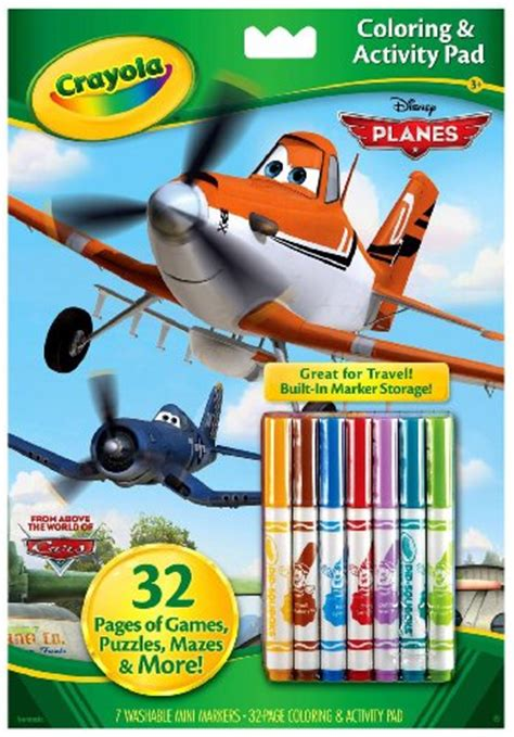 crayola mini coloring pages planes crayola disney pixar coloring and activity book with