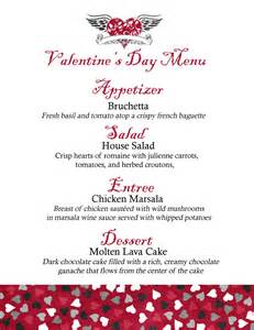 jennifer jensen valentine s day menu