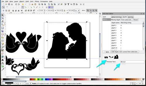 inkscape tutorial pdf free download make a dingbat font with inkscape