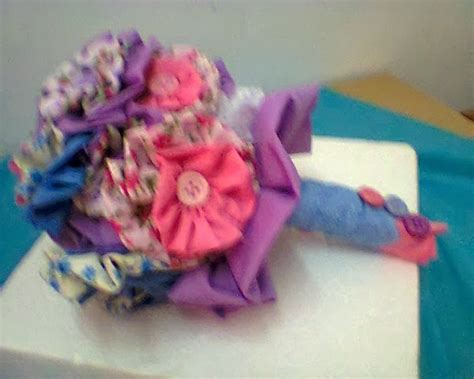 Bunga Tangan Bouquet Hb 176 mirza simply craft handbouquet bunga yoyo fabrik