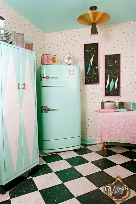 Pin Up Decor Blast From The Past With 13 Pretty Spaces | pin up decor blast from the past with 13 pretty spaces