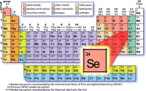 element 82 periodic table selenium an essential trace mineral