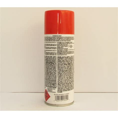 dupli color engine enamel orange aerosol automotive paint supplies