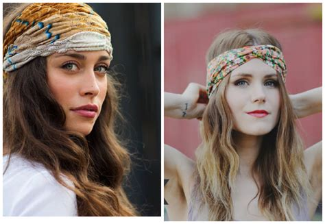 hair styles for helmets elegant hairstyles with bandana scarves hairzstyle com