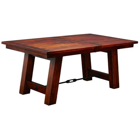 amish tables ouray trestle extension table amish solid wood tables amish tables