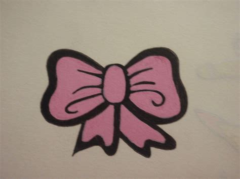 simple bow tattoo designs pink bow design by pinkhayzskullcrazy on deviantart