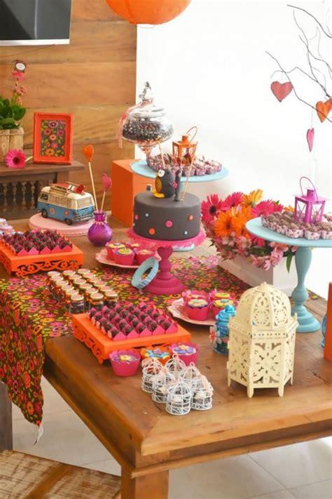 60s theme decorations hippie owl 60 s themed birthday planning