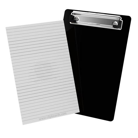 Name Tag Id Acrylic Model Vertical Transaparant Limited notepads by clipboard