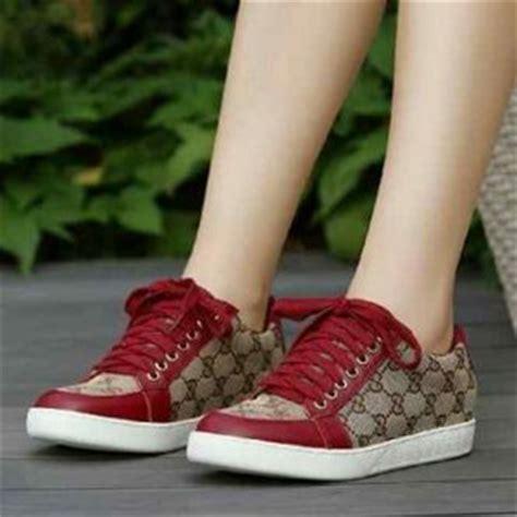 Sepatu Cewe Model Sneakers Warna Merah jual sepatu cewek sneaker fer150 rahayu wilujeng
