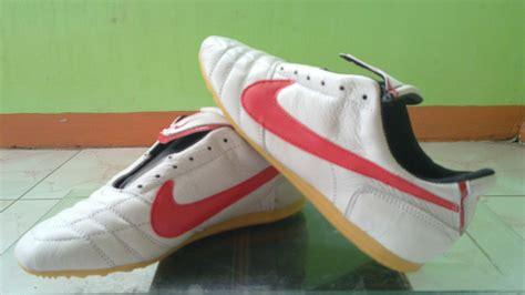 Sepatu Futsal Evospeed Merah Hijau Grade Ori Futsalpumanew jersey kaos baju futsal nike adidas specs lotto bikin buat