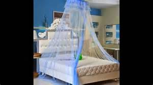 Where To Buy A Bed Canopy by Bed Canopy Mosquito Net Dark Blue Order Now Youtube