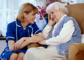 at home care staffing care home staff must be trained insists minister