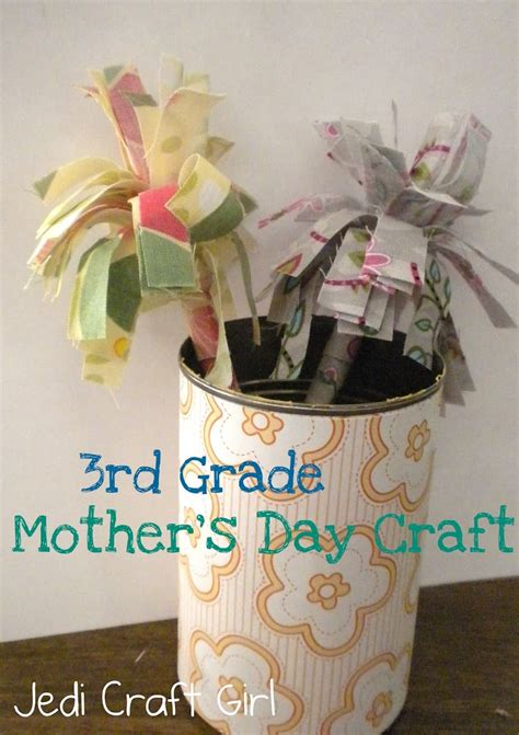 crafts for 3rd graders 3rd grade mother s day craft