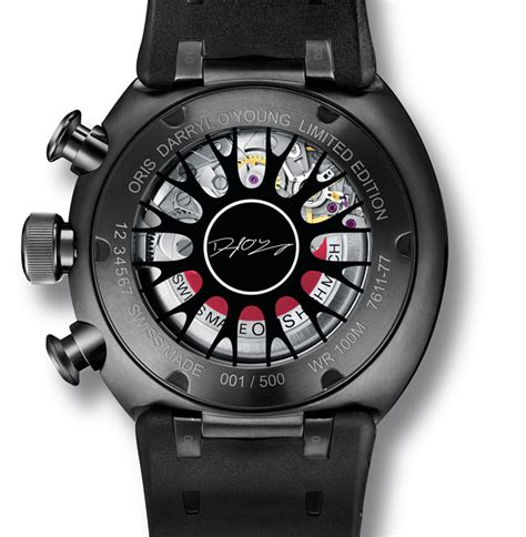 darryl o young limited edition neue uhr oris tt3 darryl o young limited edition uhrforum