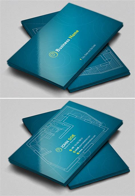 architecture business card 33 slick business card designs for architects naldz graphics