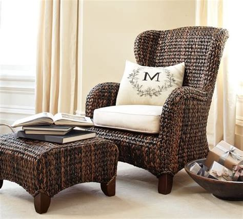 seagrass wingback armchair seagrass wingback armchair