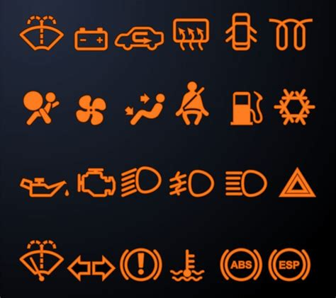 chrysler town and country warning lights symbols important dashboard lights on your car hebert s town