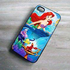 Ariel The Mermaid V1437 Iphone 4 4s 5 5s5c 6 6s 6 P disney