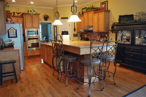 bar height kitchen island peerless antique kitchen islands tables with wrought iron counter height bar stools also