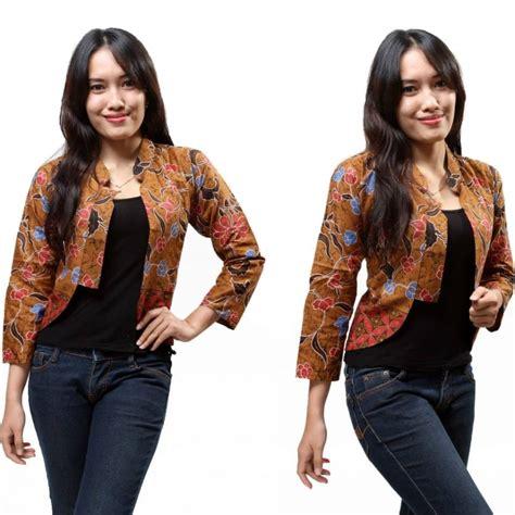 Cardigan Motif Batik By Canseeshop 15 cardigan batik wanita modern 2018 1000 model baju