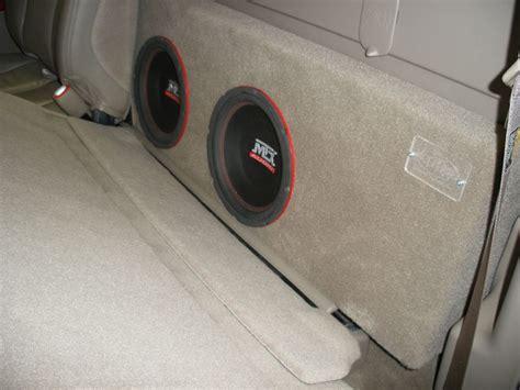 Speaker Box Gmc chevy silverado crew cab sub box gmc crew cab sub box sub wichita falls tx 940 767