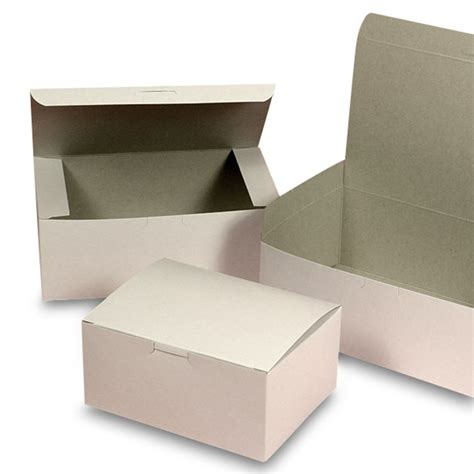 Kraft Gable Cookies Box Easter Snack Dus Paper Bag Paskah small white easy set up pastry boxes