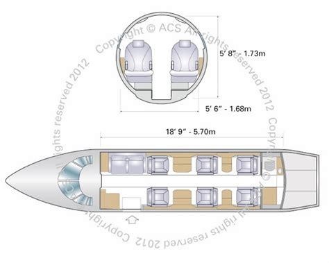 Citation Xls Cabin Dimensions by Cessna Citation Xls Xls Plus