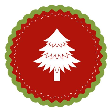 imagenes navidad redondas 225 rbol de navidad etiqueta redonda descargar png svg