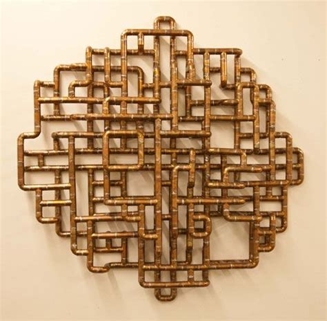 Copper Pipe Art | sculptural copper tubing furniture and art by tj volonis