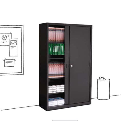 armoire m騁allique de bureau armoire de bureau avec porte coulissante