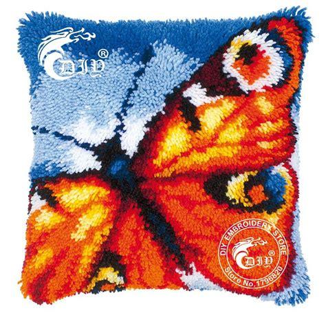 Latch Hook Pillow Kits by Aliexpress Buy Latch Hook Cushion Kits Gift Diy