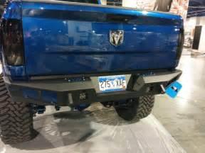 dodge ram 2500 3500 heavy duty rear bumpers
