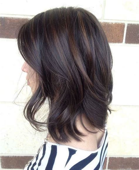 highlights on dark hair 50 17 best ideas about dark chocolate hair on pinterest