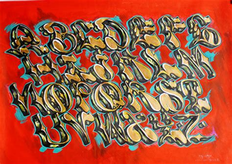 letras en graffiti bomba