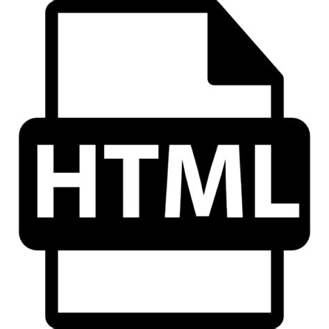 format file html html file extension interface symbol icons free download