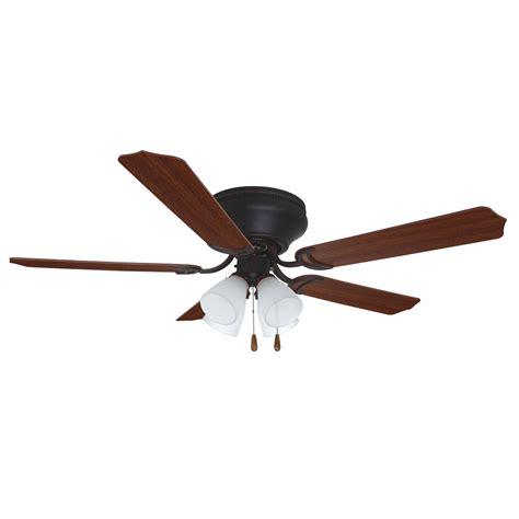 home elegance ceiling fan 52 ellington by craftmade brilliante rubbed bronze 52