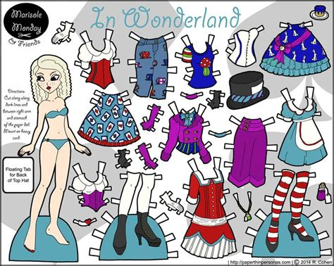Print Cut Princess Academy in color printable paper doll png 1500