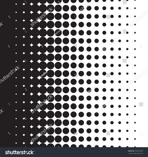 dot pattern gradient eps halftone dots pattern gradient vector format stock vector