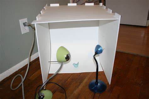 Handmade Light Box - collapsible light box for those on space and