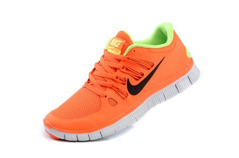 orange nike shoes womens black green orange nike free 5 0 v2 2013 cheaper
