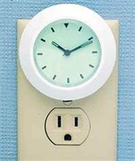 plug in night light clock bookofjoe night light clock