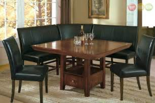 Dining Room Nooks by Salem 6 Pc Breakfast Nook Dining Room Set Table Corner