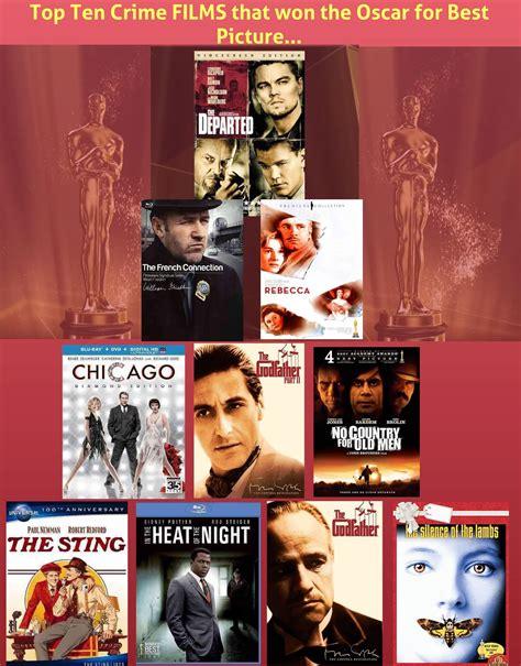 film won oscar top ten crime films that won the oscar for best picture