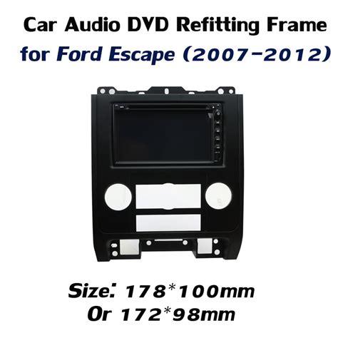 Frame Din Ford Escape 2012 Special Refitting Frame Audio Installation Frame For Ford