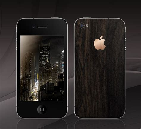 this iphone 4 is made of 200 year blackwood and 18k gold costs 3500 redmond pie