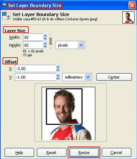 tutorial gimp layer how to resize a layer boundary gimp tutorial